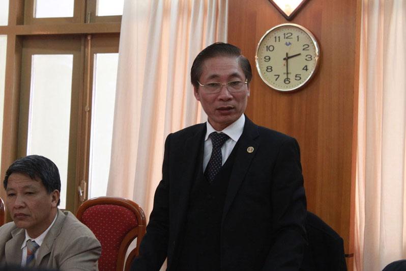 Luật sư Nguyễn Văn Chiến_Chủ nhiệm đoàn luật sư Hà Nội