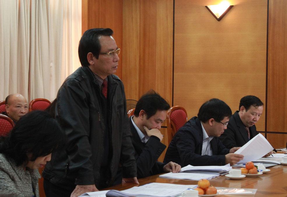 Ban Chủ nhiệm Đoàn luật sư thành phố Hà Nội làm việc với UBND thành phố Hà Nội