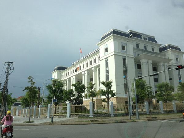(Trụ sở của Tòa án nhân dân thành phố Đà Nẵng)